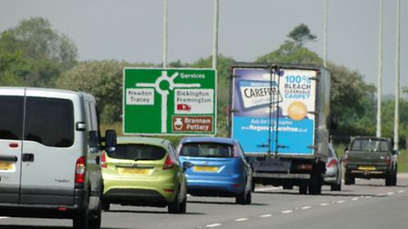 Devon County Council is to examine a number of options to improve journey times on the A39 and A361.
