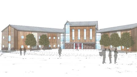 How the new boarding house at West Buckland might appear. Picture: David Wilson Partnership Limited.