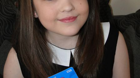 Barnstaple teenager Katie Gammon had a double lung transplant in August last year.