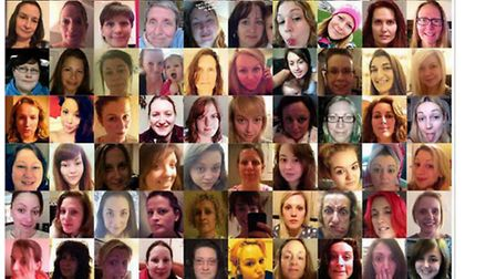 North Devon women have been posting no make-up 'selfies' on Facebook to support Cancer Research UK.