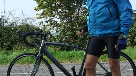 Chris Ward will be cycling 220 miles for charity.