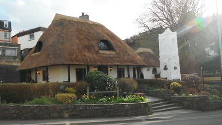 The Thatched Inn at Ilfracombe.
