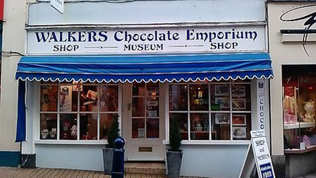 Walkers Chocolate Emporium in Ilfracombe High Street is up for sale at £475,000.