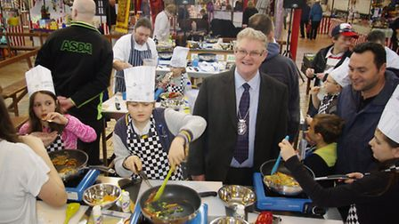 Bideford Bake Off and cooking contest. Pic: Graham Hobbs.