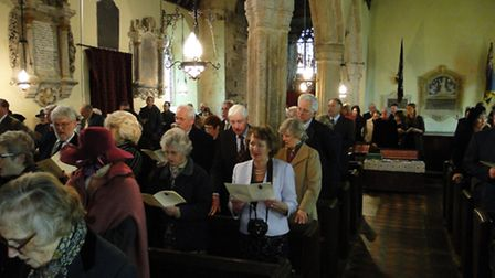 All Saints Church was filled with friends and dignitaries to see John Rous appointed as High Sheriff
