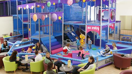 The Milky Way is opening a new tailor-made play centre for babies and under-sevens, and a caf area f