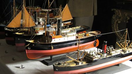 The Dunkirk model 'little ships' at Arlington Court are only cleaned once every 10 years.
