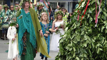 Scenes from Ilfracombe May Day Celebrations 2014.