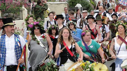 Scenes from Combe Martin's Earl of Rone festivities, Monday, May 26, 2014.
