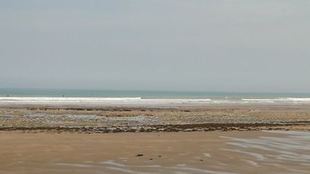 Westward Ho! beach pictured in May 2014.