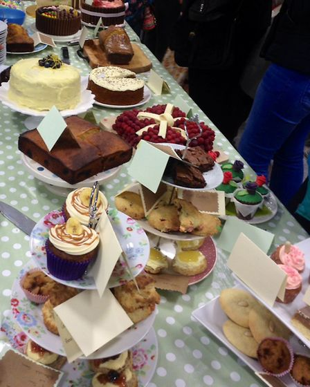There were plently of cakes on display at the High Bickington Bake-off. Picture by Leoni Bishop