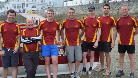 The Ilfracombe Mens A crew achieved a creditable fifth place against some of the best in the West at