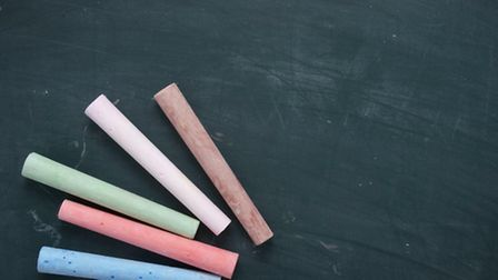chalkboard classroom school education chalks