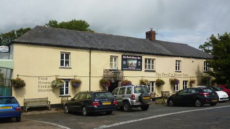 The Devil's Stone in Shebbear is reported to be one of the UK's most haunted pubs.
