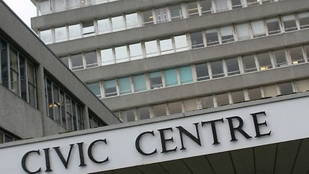 Staff are vacating the Civic Centre in Barnstaple.