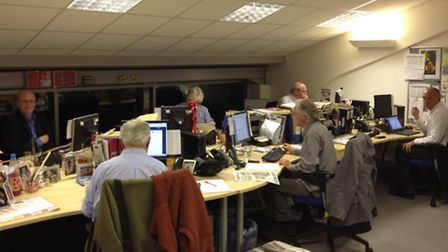 North Devon's election candidates busy answering YOUR questions at Gazette HQ.