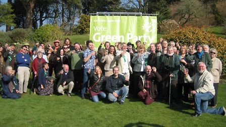 The North Devon and Torridge Green Party launched their election campaign this week