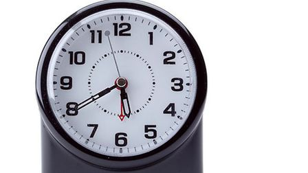 Don't forget to set your clocks back on October 25.