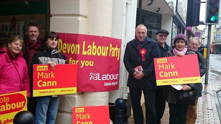Mark Cann has launched his 2015 election bid