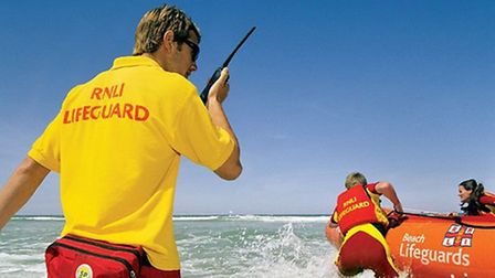 RNLI lifeguards have been busy again in 2011 on North Devon beaches. PIC: RNLI.