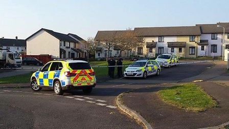 Police have evacuated people living in the Hawthorn Park area of Bideford due to concerns about an '