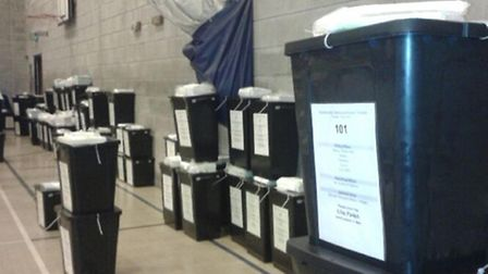 District Council counts are due to start at 2pm. Picture: @TIDYEYEPR