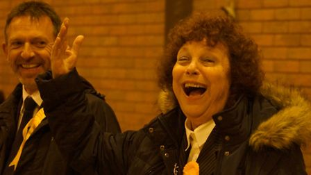 Lib Dem councillor Val Monk was among those to be re-elected to Barnstaple Town Council. Picture: An