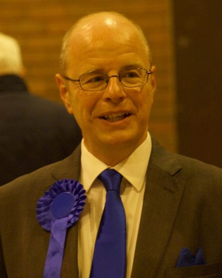 Conservative Peter Heaton-Jones won the North Devon seat by a 7,000 vote majority. Picture: Andy Kee