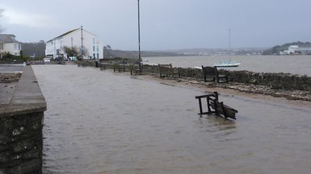 Flood alerts have been issued for the North Devon coast.