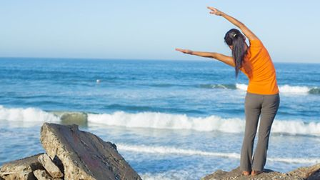 Take your fitness regime to a North Devon beach this summer. Picture: Jimmyhuynh/Thinkstock