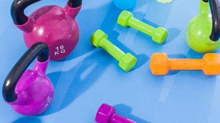 Kettlebells and weights can be used for a huge range of exercises. Picture: Getty Images/iStockphoto
