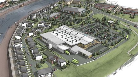 Artist's impression of the completed Anchorwood Bank development