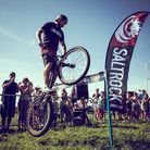 Andrei Burton in action at the Croyde View Festival. Picture: Russ Perkin