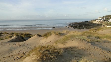 Croyde beach is one of many top-class stretches of sand and sea in North Devon