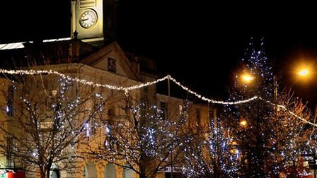 Christmas in South Molton.
