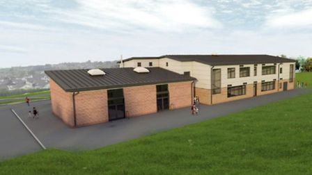 Architects have produced drawings of what South Molton's new primary school would look like. Picture