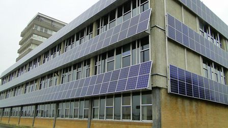 PROBLEM panels: The solar panels at the Civic Centre in Barnstaple have been inactive for the last 1
