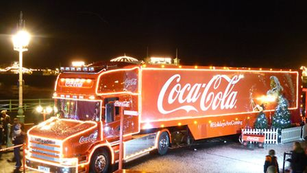 The Coca Cola Christmas truck is heading to Barsntaple on Friday (Nov 27)