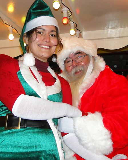 Join Santa and his elves at events around Ilfracombe this Christmas