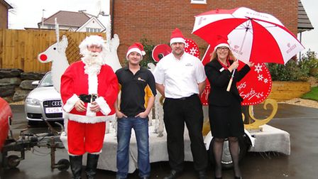 The Barnstaple Round Table Santa sleigh tours being again on Tuesday, December 8.