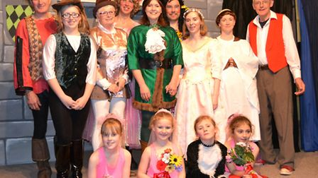 The cast of the Bright Stars panto - The Untold Story of Robin Hood