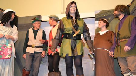 Expect plenty of panto fun with The Untold Story of Robin Hood