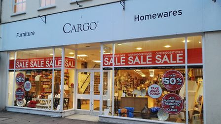 Cargo in Barnstaple High Street is set to close