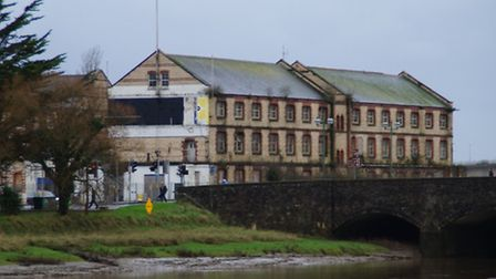 Speculation still surrounds the future of Barnstaple's historic Oliver Buildings. Picture: Andy Keeb