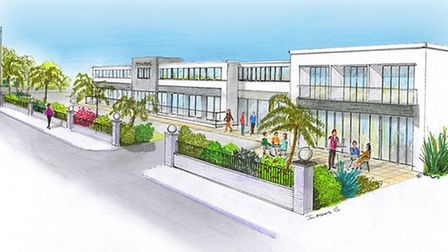 An artist's impression of the new-look Park Hotel in Barnstaple. Picture: Submitted