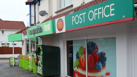The Hele Post Office in Sticklepath