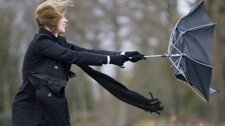 Gale force winds are forecast for the festive week ahead.
