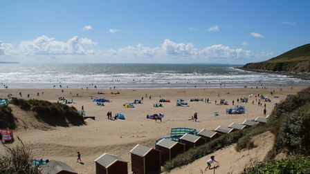 Saunton Sands always proves a popular draw on a sunny day. Picture: Andy Keeble