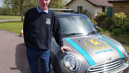 Terry Baker is hoping to hit the £500,000 mark before his 65th birthday. Picture: Sarah Howells