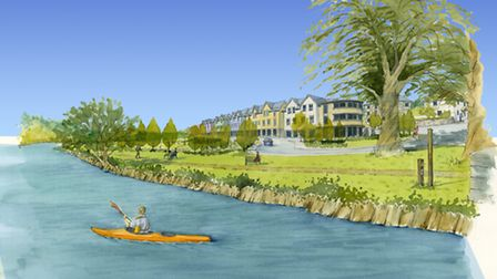 How the Torrington Creamery site could look.